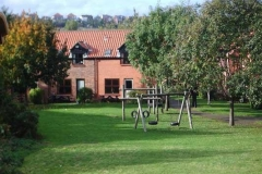 Nearby play area