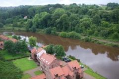 Riverside Cottage view upstream